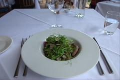 Lamb Loin Salad@Mudbrick Restaurant