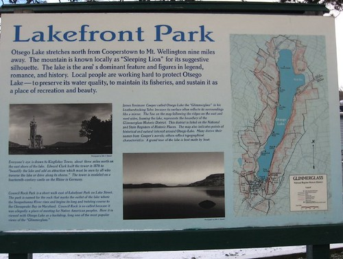Lakefront Park sign