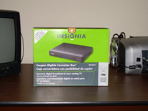 EXCLUSIVE Insignia NS-DXA1 DTV receiver unboxing!