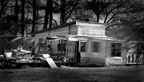 Vacant and Tornado Ravaged - West Tennessee Tornado Damage