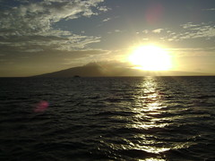 Sunset Sail (pete4ducks) Tags: travel sunset vacation water island hawaii sailing maui pete sail 2008 saiboat saiing pete4ducks peteliedtke