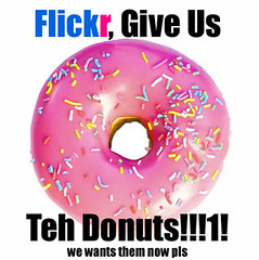 flickr_give_us_donuts (Automatt) Tags: flickr sweet protest sprinkles flickrland exploreno1 wedemanddonuts fave50 videoshmidioiwantadonut fl1108 catchycolorsflickrish