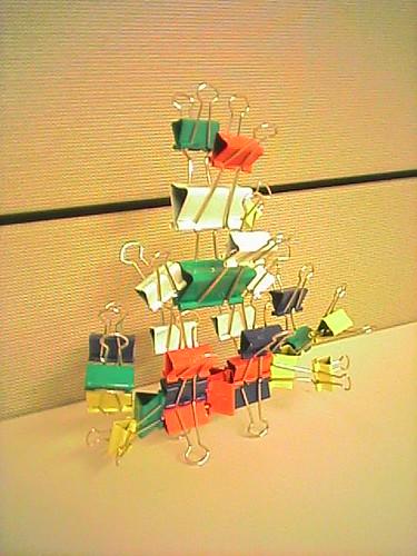 Paper clip lion