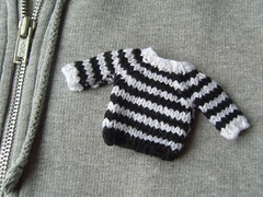 Mini Sweater Brooch