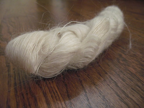 Ukrainian Cat Pelt Yarn - Closeup