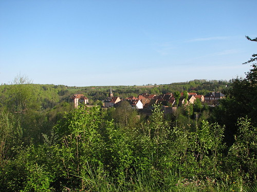 View of La Petite Pierre