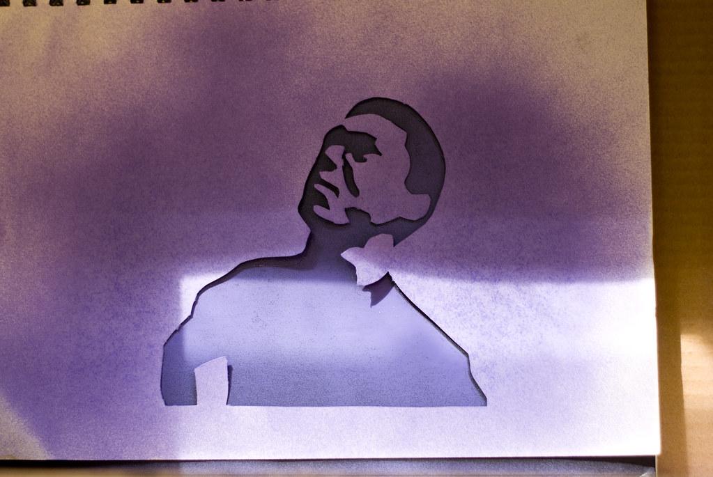 Simba Stencil