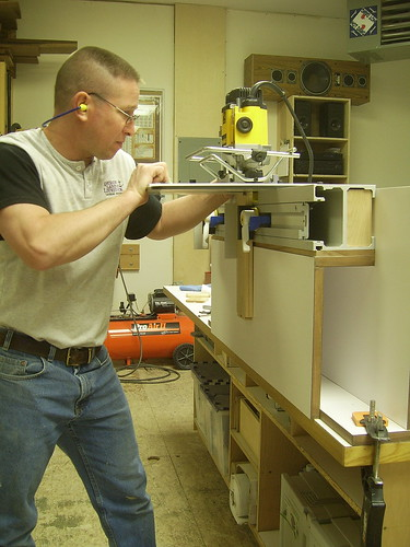 Cutting Dovetails with the WoodRat