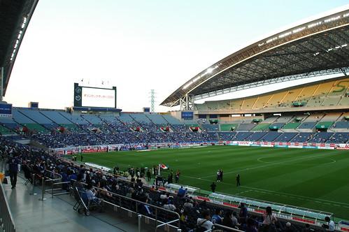 日本代表 VS パラグアイ代表@埼玉スタジアム2002
