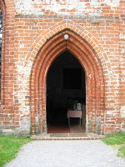 Kirchenportal Sommerstorf (lionardo) Tags: kirche tr mecklenburg mritz