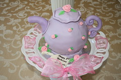 Teapot (irresistibledesserts) Tags: birthday girl cake teapot teaparty