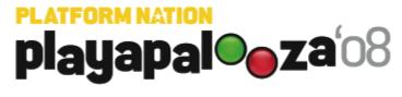 Playapalooza '08 Logo