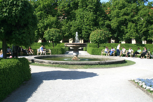 Springbrunnen - Hofgarten