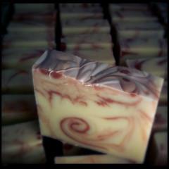 soap swirl oder kunst am arbeitsplatz (macsoapy) Tags: soap swirl iphone wildehilde seife handmadesoap handgemachteseife marmorierung