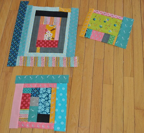 flea market fancy blocks in progress