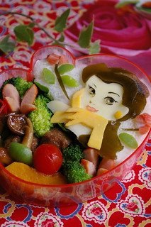Beauty and the beast bento