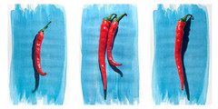 Peppers Triptych