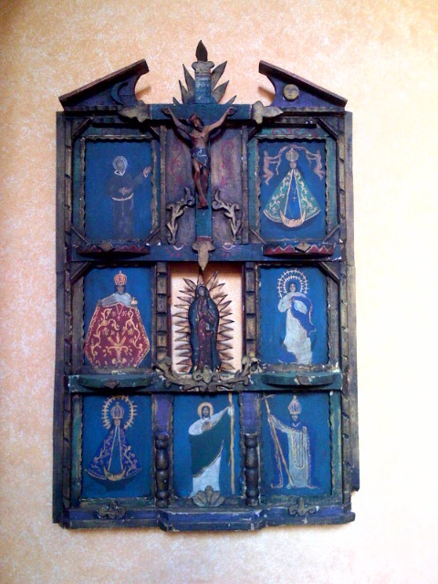 devotional image from the Hostal de la Noria