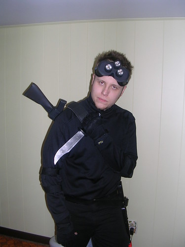 me as sam fisher from tom clancys splinter cell - Splinter Cell Halloween Costume