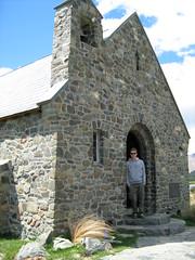 Tekapo Church (Ensom Ulv) Tags: newzealand lake church tekapo