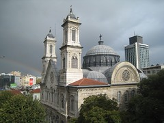 view from our 4th floor flat in Istanbul