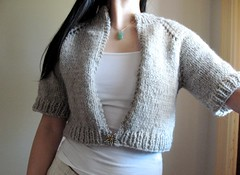 Anthropolgie Inspired Capelet (Cropped Cardigan)