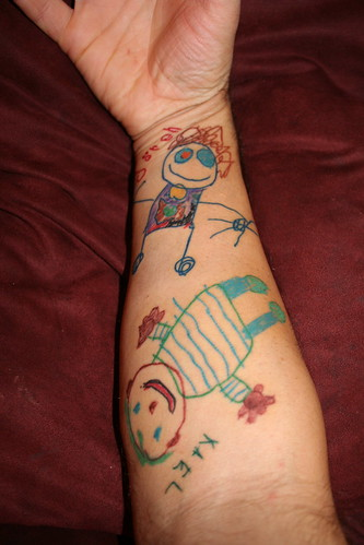 Kid Art Tattoos (Group)