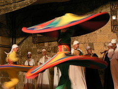 Sufi Dancers at the Citadel in Cairo (eviljohnius) Tags: citadel egypt dancer cairo sufi dervish whirling saladin