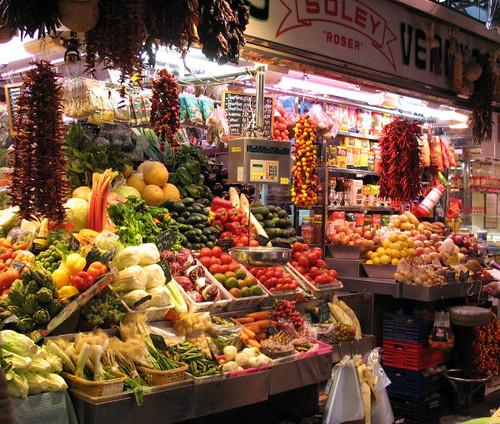Boqueria Market, Barcelona 7