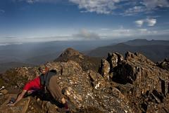 mountain yoga (aardvark.) Tags: australia tasmania tassie hartz