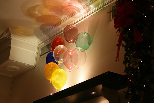 Chihuly-like fixtures...