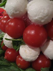 Mozzarella and tomato tree 2