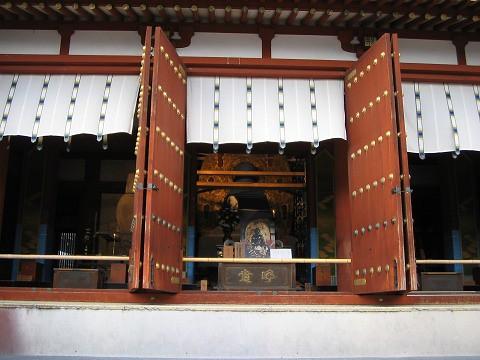 薬師寺-金堂改修中1