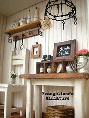 JunkStyle 3 (evangelione) Tags: miniature junk dollhouse