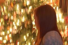 Christmas Moment (joshcalebwray) Tags: christmas color photoshop d50 lights nikon texas christmastree nikond50 christmaslights adobe granny tamron northtexas photo manipulation femalephotography photoshop elements joshcalebwray enhancing