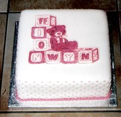 Cacen bedydd Ffion Wyn (MorfuddNia) Tags: cake christening cacen christeningcake bedydd cacenbedydd