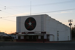 texan theater ready for sunset