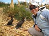 Me and bound cormorants