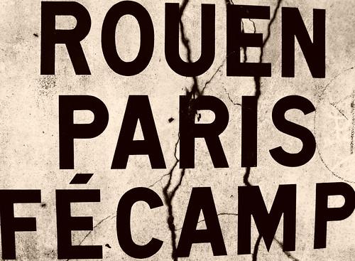 Rouen Paris Fécamp