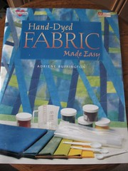 fabric dyeing book