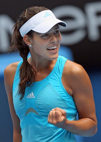 against Caroline Wozniacki
