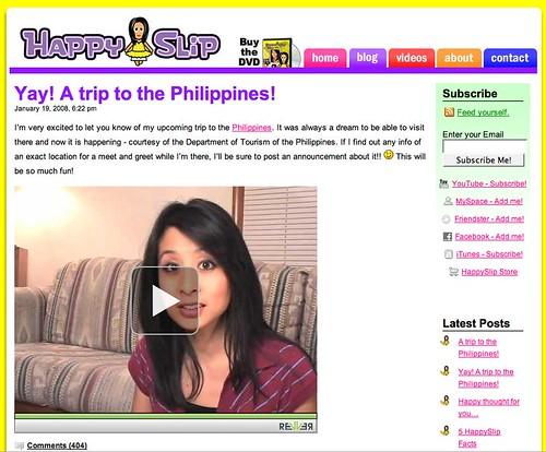 HappySlip in Manila!