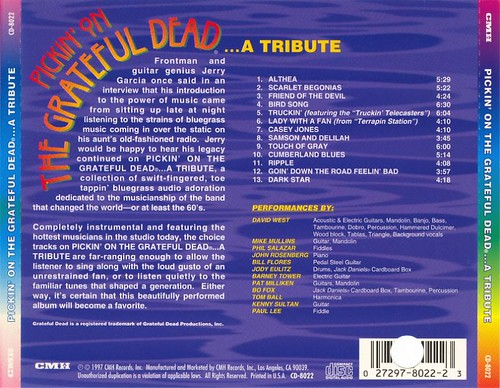 Pickin' On The Grateful Dead ... A Tribute (1997)