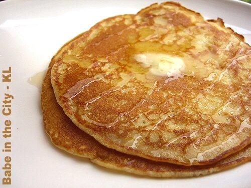 Pancakes, Nigella's recipe