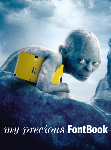 FontBook Movie Ad Contest