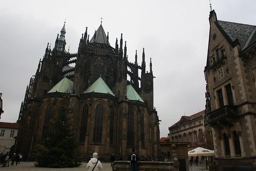 ヴィート大聖堂裏側