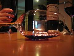Aerating 2005 Bordeaux