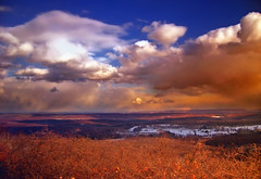 Breadth (Nicholas_T) Tags: winter sky snow weather clouds landscape lowlight dusk pennsylvania plateau creativecommons poconos bluemountain appalachianmountains stratocumulus monroecounty kittatinnymountain mountpoconooverlook knobroad