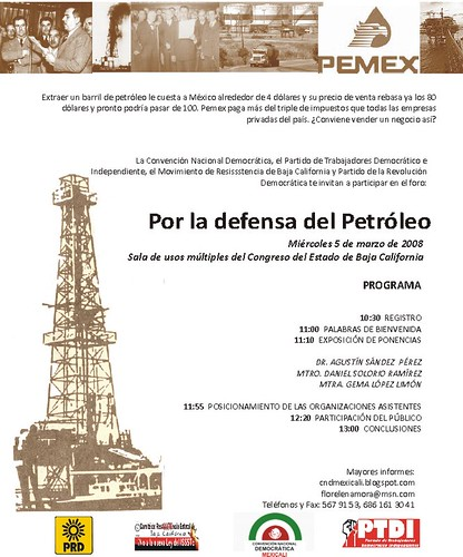 invitaciónFORO CND MEXICALI