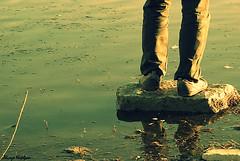 (alirezanajafian) Tags: sea feet river foot nikon iran esfahan alireza isfahan zayanderood farhang najafian alirezanajafian d80 zayanderoud farhanghaghighat nikkor70300mmvr